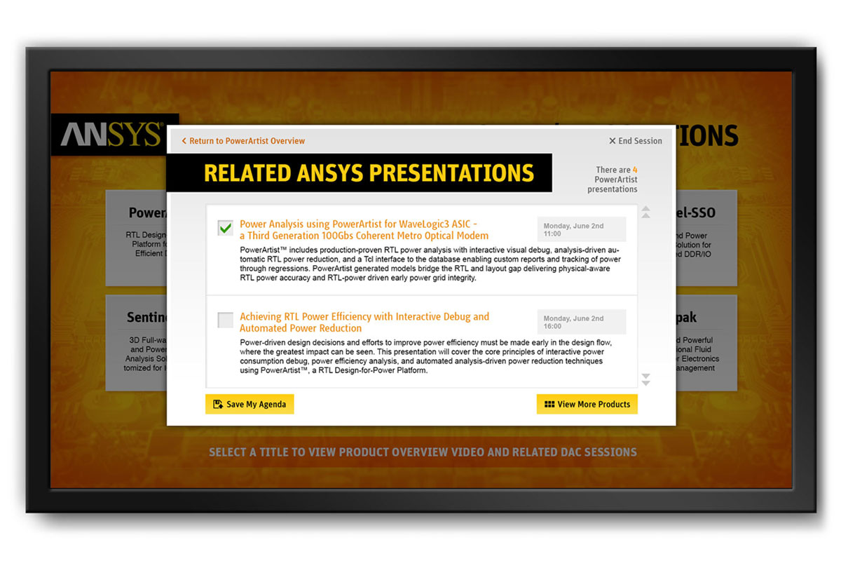 ANSYS Trade Show